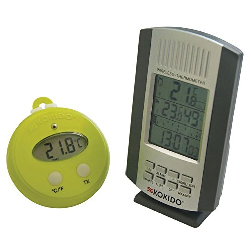 Kokido - Thermomètre sans fil THERM'O avec base à fixer ou à poser KOKIDO