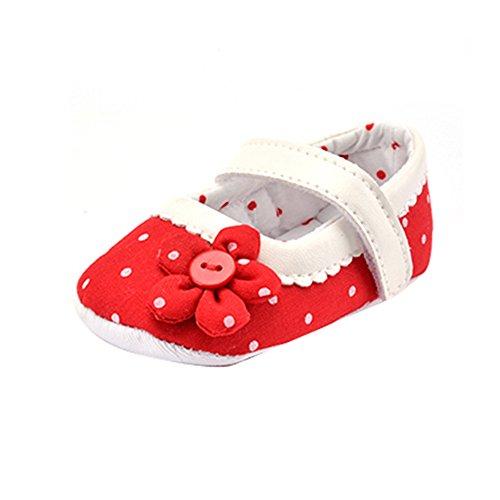 ... Monate, Rosa) Rot. Hunpta Baby Girl Canvas Schuhe Sneaker rutschfest  weiche Sohle Schuhe (Alter: 0 ~ 6