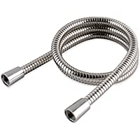 MX Group 2.0 m Stainless Steel Hi Flow Double Interlock Shower Hose