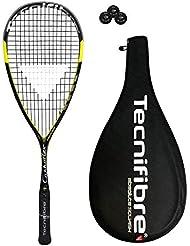 Tecnifibre Carboflex 125 Heritage Squash Schläger (Verschiedene Optionen)