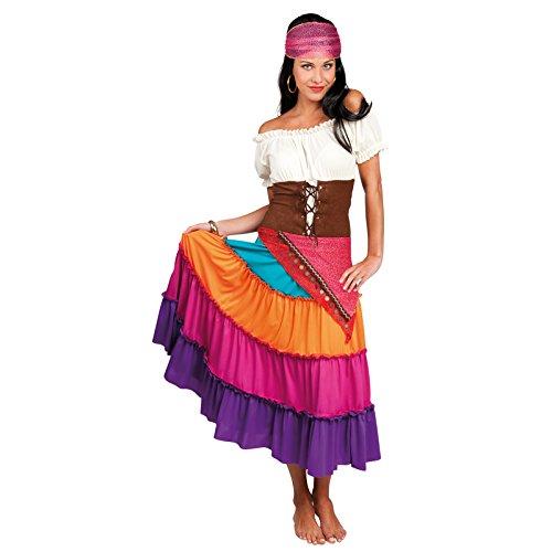 Boland 87773 - Erwachsenenkostüm Zigeunerin Nadya, Größe 36 / (Zigeuner Kostüme Kleid)
