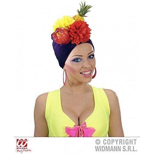 Lively Moments Brasilianische Kopfbedeckung/Mütze/Hut/Kostümzubehör Miranda mit ()