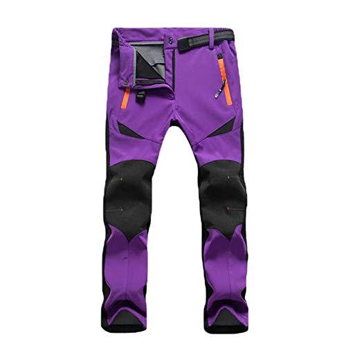 33d4ba99986 Molre-yan Pantalones De Esquí De Invierno Engrosados Pantalones De Secado  Al Aire Libre De Secado Rápido Fleece Deportes Ocasi