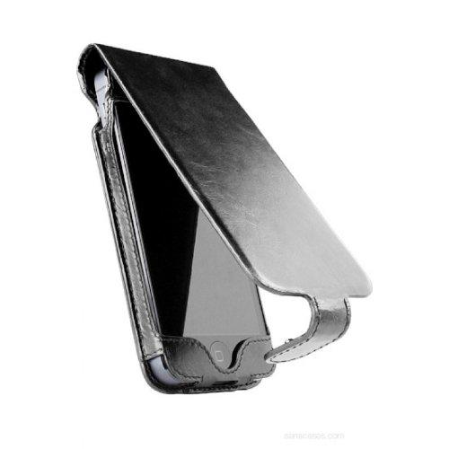 SENA Case Hampton Flip für Apple iPhone 5 schwarz Sena Iphone Flip Case