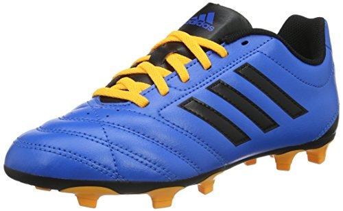 adidas Unisex-Kinder Goletto V FG Fußballschuhe, Blau (Shock Blue/Core Black/Solar Gold), 37 1/3 EU