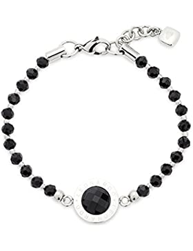 Leonardo Jewels Damen Armband Edelstahl Glas Matrix 01540_0