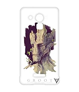 Vogueshell Groot Printed Symmetry PRO Series Hard Back Case for Coolpad Note 3 Lite