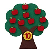 Winwinfly Diy Montessori Teaching Aids Math Toys Apple Tree Early Learning Education Toys