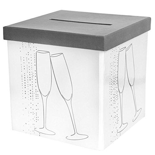 SANTEX 4637-1, Tirelire Champagne, blanche