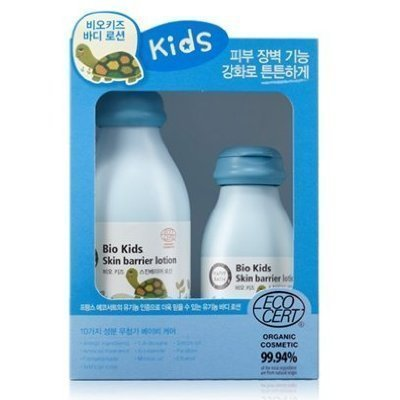 Happy Bath, Bio Kids Skin Barrier Body Lotion 300ml+Lotion150ml) (skin care, organic)