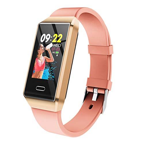 ALTRLP Informazioni attività di Fitness Tracker contapassi frequenza cardiaca Impermeabile Colore del Monitor dello Schermo Chiamata di promemoria Sport Braccialetto Intelligente-d\'oro