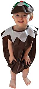 Adorable Christmas Pudding Fancy Dress Party Outfit 2