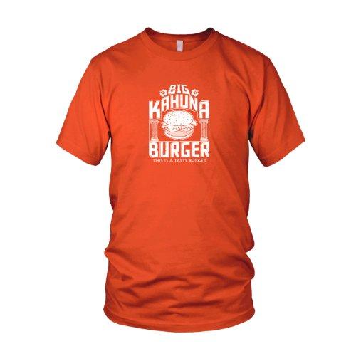 Big Kahuna Burger - Herren T-Shirt, Größe: L, Farbe: orange (Pulp Fiction Vincent Vega Kostüm)
