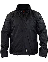 Crosshatch Winstons Mens Jacket Lightweight Waterproof Windbreaker Coat