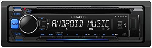 Kenwood Subwoofer 12 (Kenwood KDC-100UB Autoradio USB/CD-Receiver mit Tastenbeleuchtung blau/schwarz)