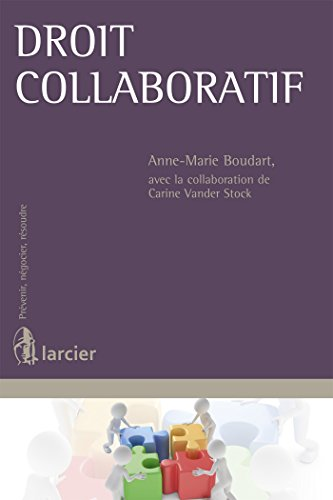 Droit collaboratif par Anne-Marie Boudart