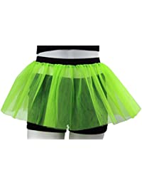 Neon 3 Layer Tutu Skirt - Fits Size 8 To 16