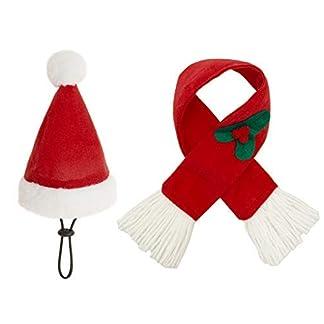 expawlorer christmas cat costume santa hats scarf set, warm xmas gift adorable accessories soft hat scarf cat puppy EXPAWLORER Christmas Cat Costume Santa Hats Scarf Set, Warm Xmas Gift Adorable Accessories Soft Hat Scarf Cat Puppy 41qBJYbqmtL