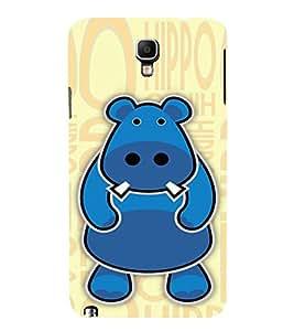 EPICCASE Cutie Hippo Mobile Back Case Cover For Samsung Galaxy Note 3 Neo (Designer Case)