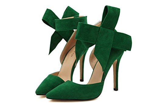 YCMDM FEMME Chaussures Femmes Coller Chaussures à Talons Chaussures Sandales Mode Simple Chaussures Printemps Eté Blue