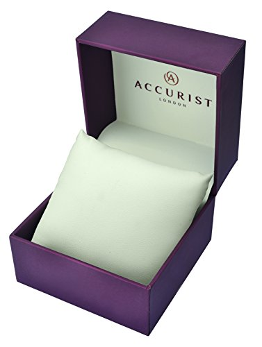 Accurist Women's Quartz Watch with Mother of Pearl Dial Analogue Display and Silver Stainless Steel Bracelet Lb1662P.01
