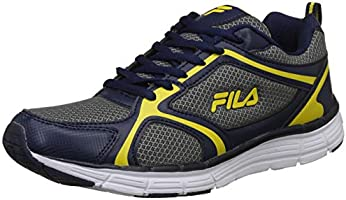 Fila Men's Champ Pea/YEL Running Shoes-9 UK/India (43 EU) (11006457)