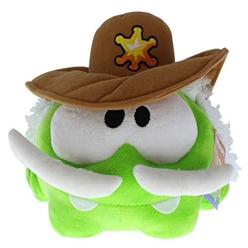 Om Nom Sherrif Plush - Cut The Rope - 20cm 8""