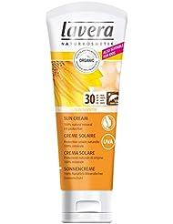 lavera Soin Solaire pour Peaux Sensibles SPF 30-100% minérale - Cosmétiques naturels - Ingrédients végétaux bio - 100% naturel - Crème 75 ml