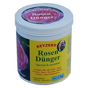 keyzers Engrais pour roses Concentré Spécial NPK 6–8de 8[1000g]–Obtenez 80–100% plus de fleurs