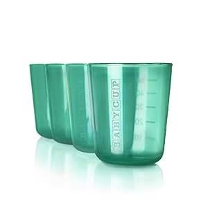 Babycup Premières Tasses, Lot de 4 Vert