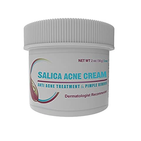 Best Acne Treatment Cream - Topical Anti Acne Medication with Salicylic Acid and Tea Tree Oil. Get Rid of Acne Scars, Pimples, Cystic Acne and Blackheads in 21 Days. 2 oz/60ml