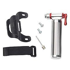 Idea Regalo - Pompa Bici - Gonfiatore di Pneumatici CO2 per Valvole Presta E Schrader - Pompa per Pneumatici Mini per Bici da Strada, Mountain Bike