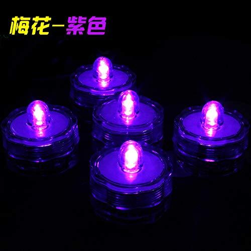 t, 12 LED Flammenlose Kerzen, Weihnachten, Elektrische Teelichter Kerzen für Halloween, Weihnachten, Party, Bar, Hochzeit 3cmx2.6cm ()