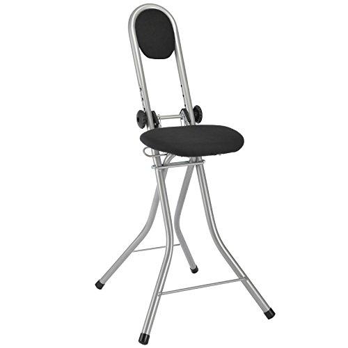 Steh- und Sitzhilfe mit 4 Einstellungen von 55-64cm, TÜV-GS-Geprüfte Qualitöt: Stehsitz Stuhl...