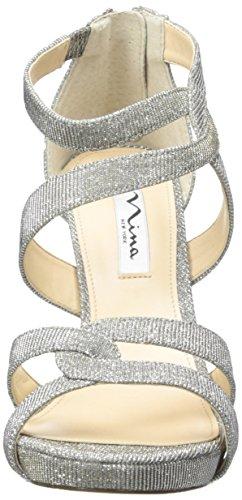 Nina Franzet Textile Sandale Steel