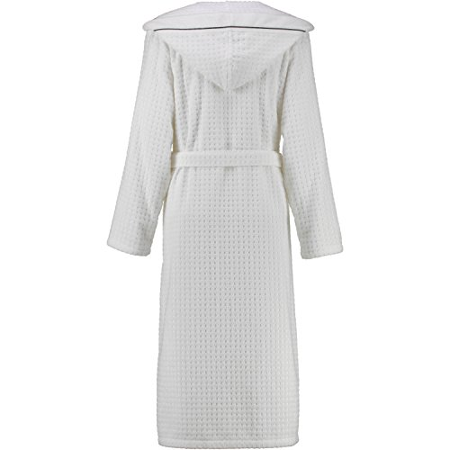 Michaelax-Fashion-Trade -  Accappatoio  - Basic - Maniche lunghe  - Donna Weiss (600)