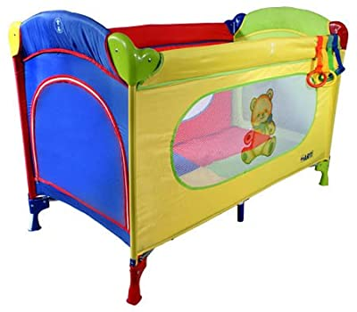 Cuna de viaje - Cunas y camas - Cuna plegable - Cuna infantil - Travel Cot ARTI Basic Fresh Teddybear by ARTI
