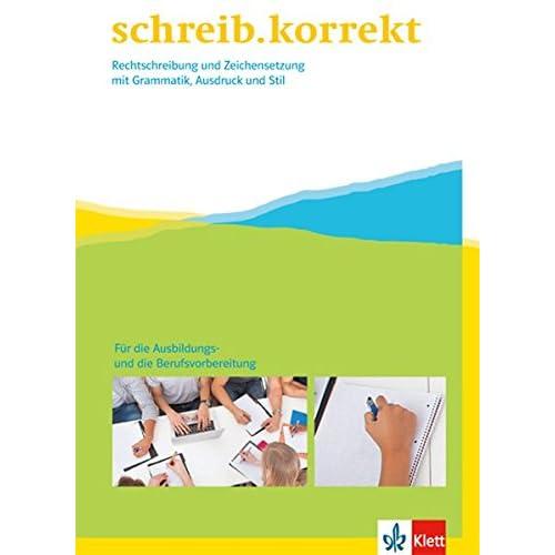 PDF] schreib.korrekt / Rechtschreibung und Zeichensetzung mit ...