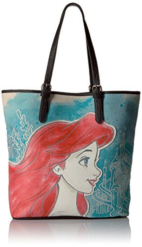 disney-little-mermaid-ariel-printed-faux-leather-tote-bag