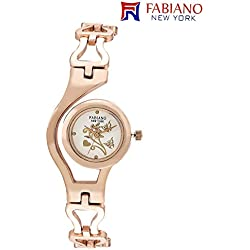 Fabiano New York Rose gold Analog Women & Girls Wrist Watch