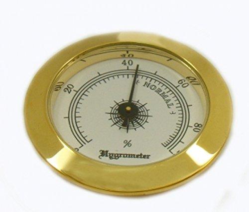 Front-Hygrometer Einbau 47-49mm inkl. Lifestyle-Ambiente Tastingbogen