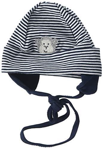 Bellybutton mother nature & me Unisex Baby Bindemütze Mütze, Blau (Navy Blazer|Blue 3105), 39