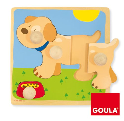 goula-wooden-dog-lift-out-puzzle-4-pieces