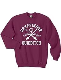 Pure Cotton - Sudadera (tamaños diferentes), diseño de equipo Gryffindor de Quidditch de Harry Potter, diferentes colores
