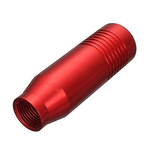 Fishyu Universal Car Aluminum Alloy Manual Gear Stick Knob Durable Shifter Lever 85mm (Shifter Stick Gear)