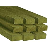 2.4m Pack of 5 C24 Sawn Timber Floor Joist 45x245mm 10x2 Inch