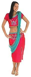 Rubies 889513S - Disfraz de Bollywood para mujer (talla mujer: 8-10)