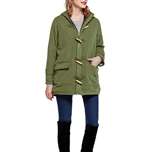 Damen Winter Mantel Winterparka Female Jacket Daunenjacke Lang Mantel Outwear Frauen Warm...