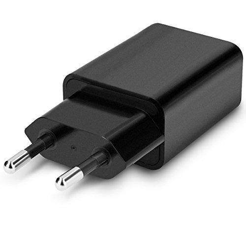 kwmobile Netzteil für Smartphones und Tablets mit USB Ausgang in Schwarz mit - S Galaxy Duos Screen-ersatz