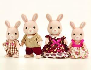 Sylvanian Families Champagne Rabbit Family